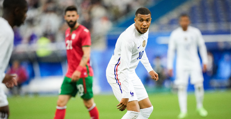 'Boze Mbappé voelde zich gezocht door Giroud en wilde op persconferentie reageren'