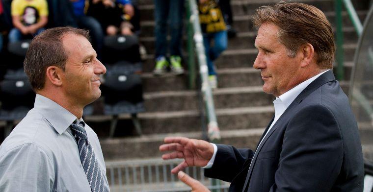 'Trainer Steijn lijkt veld te moeten ruimen door vertrouwensbreuk met Mister NAC'