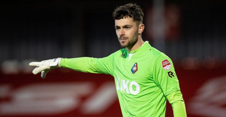 PEC Zwolle haalt nieuwe doelman: 'Bedoeling dat hij de strijd aangaat met Lamprou'