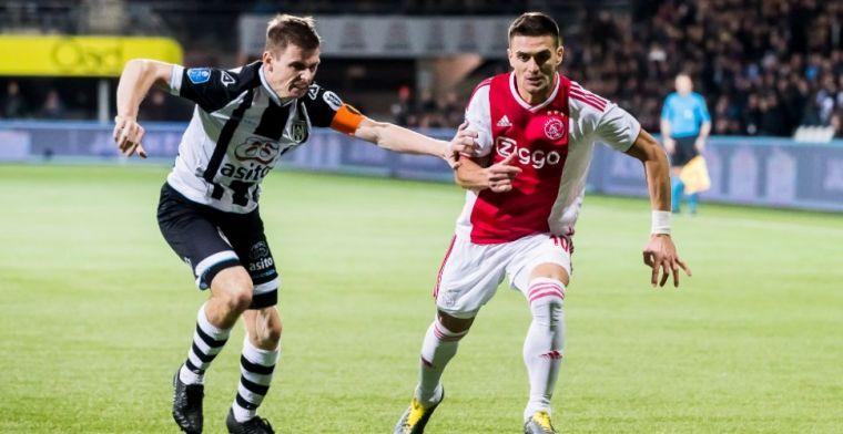 'Ik stond vaak tegenover Tadic en nu sleept hij bij Ajax de jonge spelers mee'