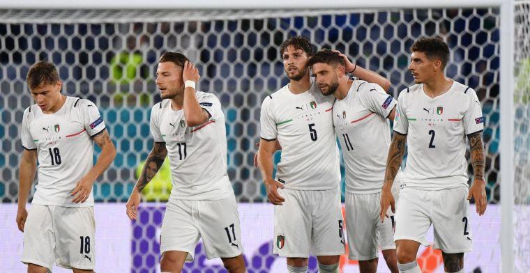 Italië wint ouverture tegen slap Turkije glansrijk en pakt direct favorietenrol