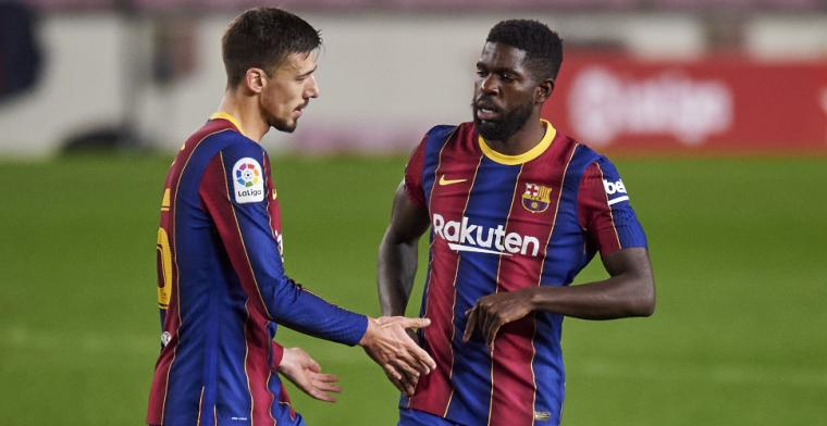 'FC Barcelona zet deur wagenwijd open voor overbodig tweetal'