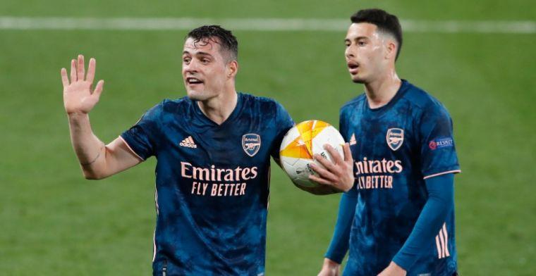 La Repubblica: Arsenal vangt achttien miljoen en laat Xhaka naar Italië vertrekken