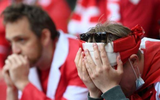 UEFA en Deense bond: Eriksen is wakker, gestabiliseerd en in het ziekenhuis