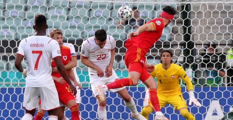 Wales heeft tegengoal nodig om te ontwaken: remise tegen Zwitserland