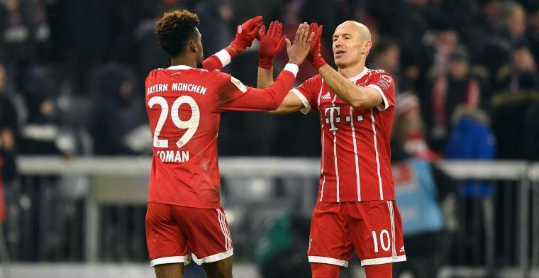 'Ontevreden Coman (Bayern München) hoopte tevergeefs op rugnummer Robben'