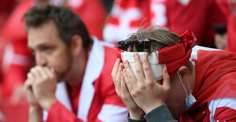 UEFA komt met bericht: 'Eriksen is gestabiliseerd en op weg naar het ziekenhuis'