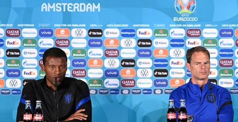 Spelers van Oranje zullen niet knielen: 'Dat deden we sowieso al niet'