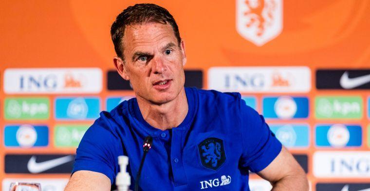 Tegenvaller voor Nederland, De Ligt mist de eerste match van Oranje
