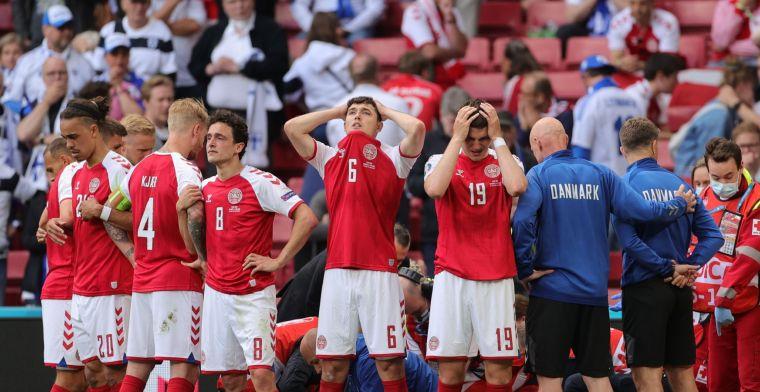 Zes sterren voor alle Deense spelers: 'Louter helden op het veld'