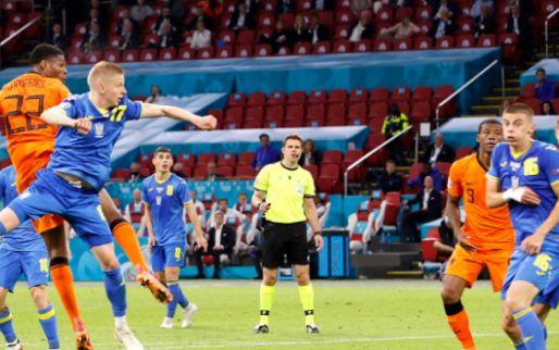 Afbeelding: Nederland komt ineenstorting en goal van Yaremchuk te boven en wint alsnog