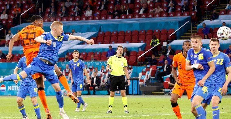 Oranje komt ineenstorting tegen Oekraïne te boven en wint dankzij Dumfries alsnog