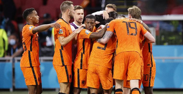 Nederland maakt wat los in spektakelstuk: 'Beste wedstrijd van dit EK'