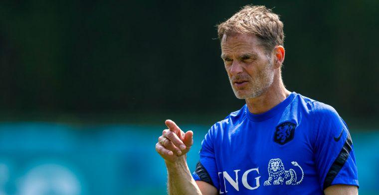 De Boer verklaart onverwachte Oranje-wijziging: geen Wijndal, maar Van Aanholt