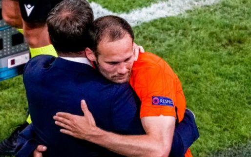 Daley Blind besprak drie opties met vader Danny op wedstrijddag Oranje: 'Knap'