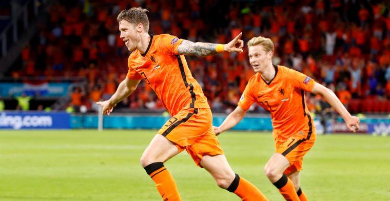 Weghorst 'geen aanspeelpunt' voor Oranje: 'Niet als de Jong, maar als Huntelaar'