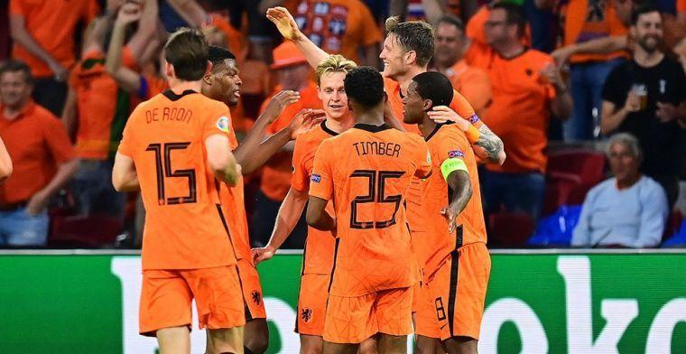 Oranje aangeslagen door Eriksen: 'Ook voor mij als onbekende viel de wereld stil'