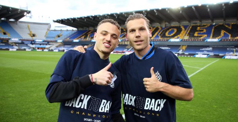 'De kapitein blijft': Club Brugge deelt heuglijk nieuws over onmisbare Vormer