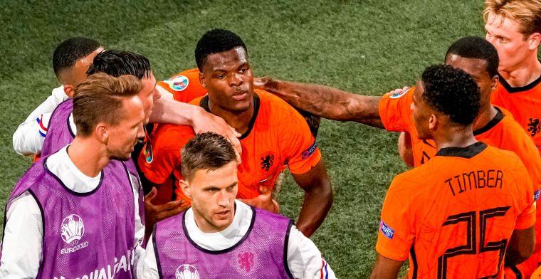 Oranje is los: 'Twee mannen die soms niks in het team te zoeken lijken te hebben'