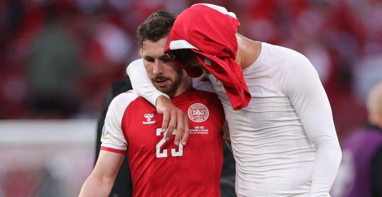 UEFA reageert op kritiek van Denen: 'Daardoor hadden we geen andere opties'