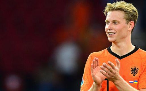 Frenkie de Jong haalt schouders op om nationale discussie: