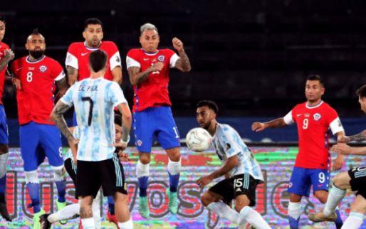 Afbeelding: Messi tovert op zesde Copa, Tagliafico bestraft door VAR: valse start Argentinië