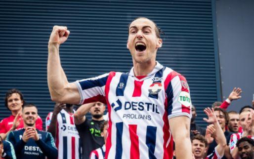 Afbeelding: Willem II heeft contractnieuws: 'Ben van de club gaan houden en weet wat ik heb'