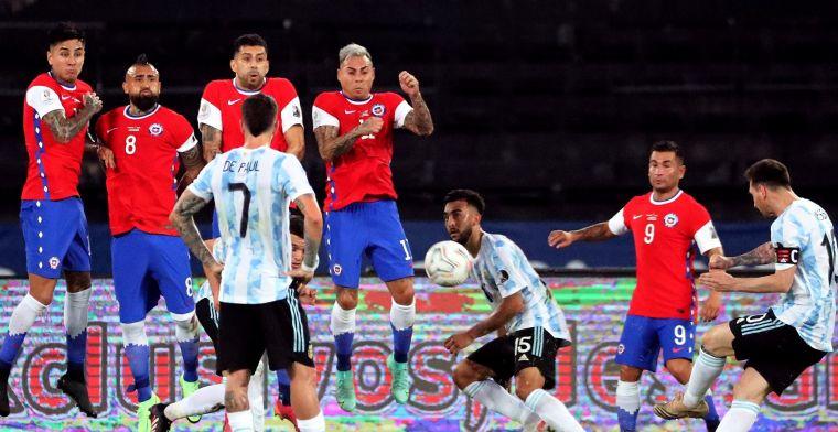 Messi tovert op zesde Copa, Tagliafico bestraft door VAR: valse start Argentinië