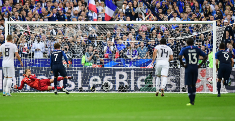 OPSTELLING: Frankrijk met gouden-trio, Duitsland met ervaren Muller