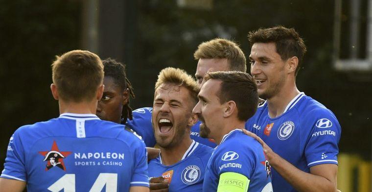 KAA Gent strikt mooie tegenstanders uit Nederland en Portugal