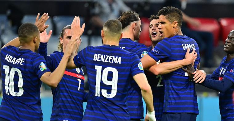 Oppermachtig Frankrijk bewijst favorietenstatus in kraker tegen Duitsland