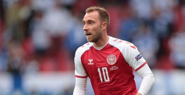 Deense fans roepen op social media op tot Eriksen-eerbetoon bij duel met België