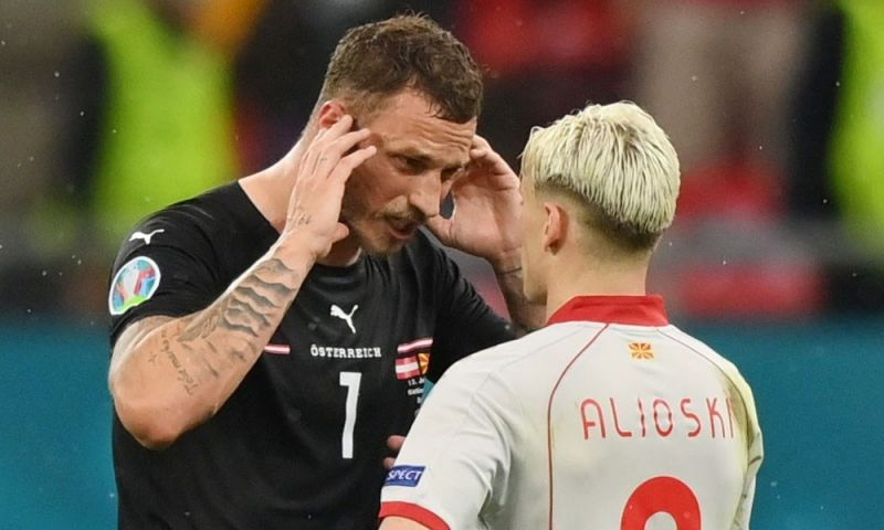 Afbeelding: Arnautovic krijgt schorsing en kan groepswedstrijd tegen Oranje vergeten