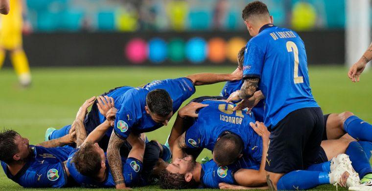 Italië walst ook over Zwitserland heen en doet serieuze gooi naar EK-titel