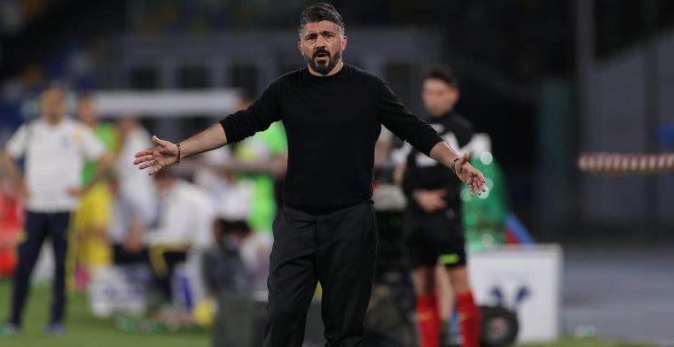 Gefrustreerde Gattuso mogelijk al op weg naar de uitgang bij Fiorentina
