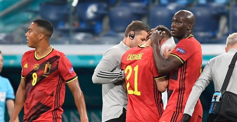 UPDATE: Castagne reist mee af naar München voor wedstrijd tegen Italië