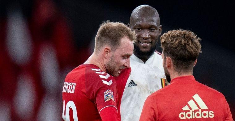 Belgen gaan wedstrijd onderbreken voor Eriksen-eerbetoon: Normaalste zaak
