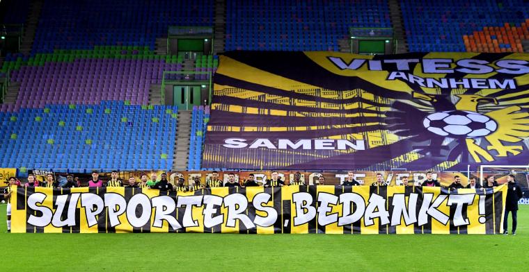 Vitesse zonder fans Europa in: 'Hopen dat de situatie nog gaat veranderen'