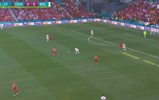 GOAL: Denayer helpt Denemarken in het zadel, Poulsen scoort na twee minuten