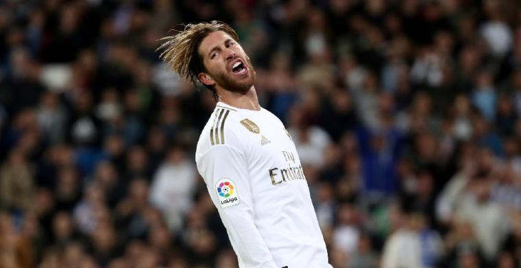 Ramos wilde niet vertrekken bij Real Madrid: 'Het was niet meer mogelijk'