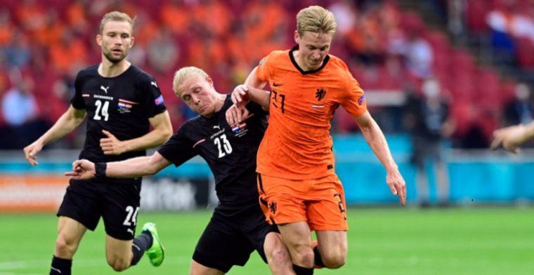 Van der Vaart en Van Hooijdonk tevreden over spel Oranje: 'Echt ijzersterk'