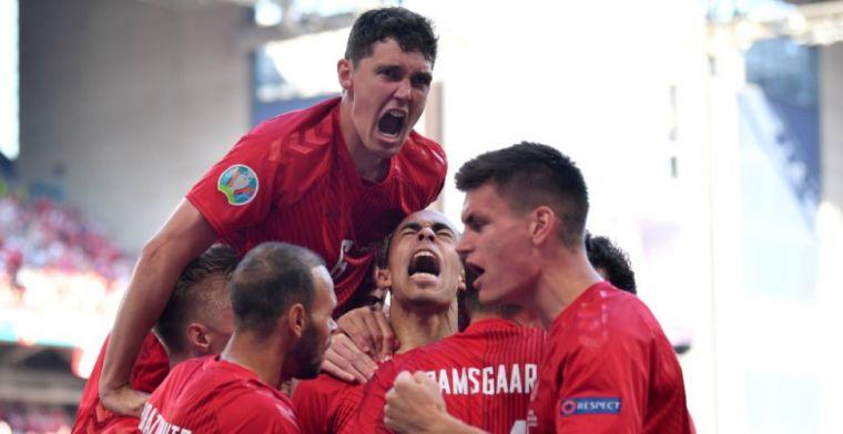 Bondscoach Denemarken looft zijn spelers: 'De emoties omgezet in prestaties'
