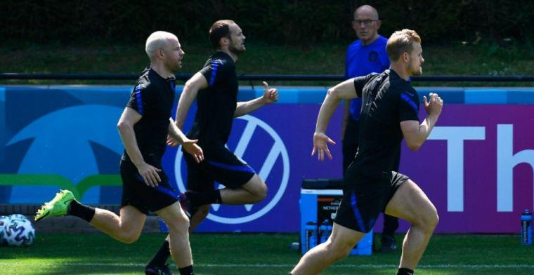 Van der Vaart looft De Ligt en Blind: 'Zijn ballen tussen linies zijn goud waard'