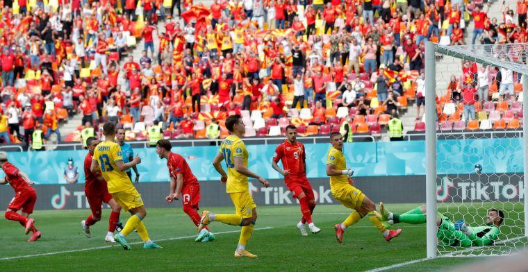Oekraïne spoelt Oranje-kater weg en ligt na zege op koers voor achtste finales