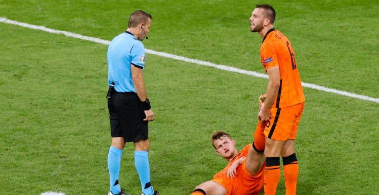 De Ligt na blessure op veld: 'Als je het zegt dan schaam je je er een beetje voor'