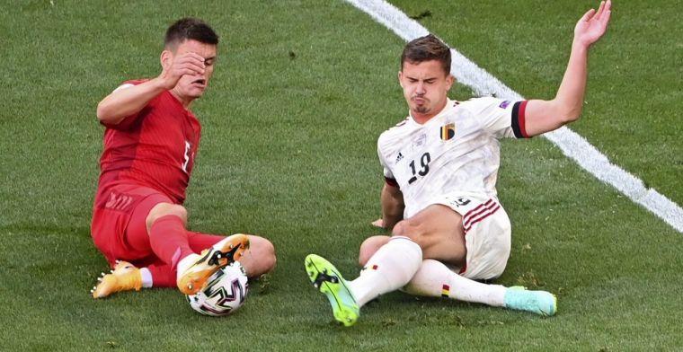 Tielemans en Dendoncker stellen teleur tegen Denemarken: 'Een dikke nul'