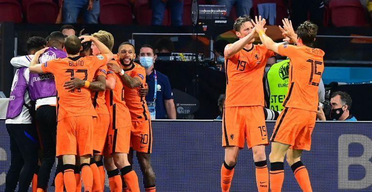 LIVE-Discussie: Nederland ziet De Ligt terugkeren tegen Oostenrijk