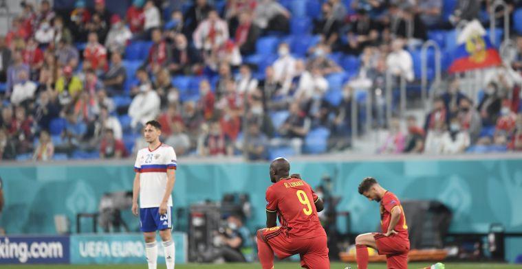 """Lukaku over BLM-perikelen: """"Russische speler excuseerde zich achteraf"""""""