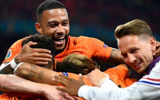 Oranje wint 'poule des prutsers' op EK: 'De man van het toernooi tot nu toe'
