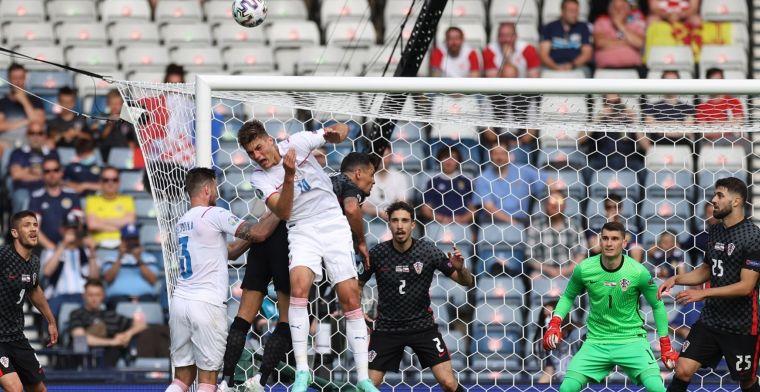 Schick laat Ronaldo, Lukaku én Dumfries achter zich: Tsjechië en Kroatië gelijk